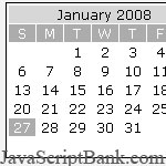 Xin Calendar Lite © JavaScriptBank.com