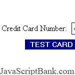 Credit Card Number Validation