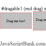 Crossbrowser Drag Handler