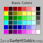 HTML Color Editor tool © JavaScriptBank.com