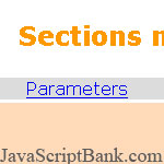 Sections Maker script