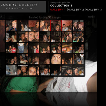 Jquery Gallery version 1.0