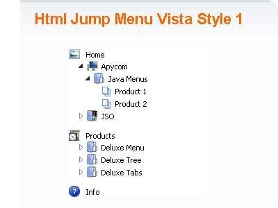 9 Nice Useful JavaScript and Ajax Navigation Tree Menus - Page 2