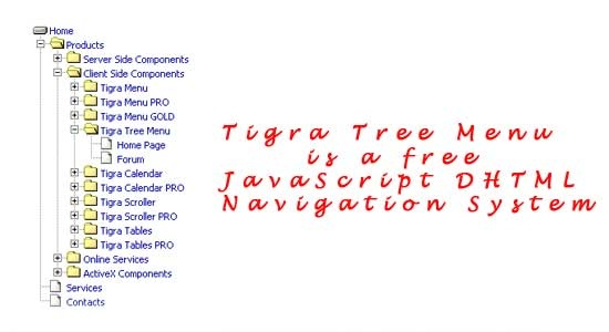 Tigra-Tree-Menu